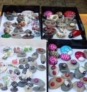 steine verschenken