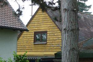 Nur noch wenige Häuser aus der Gründungszeit 1932 sind noch vorhanden.